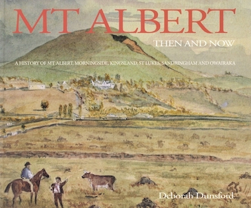 Mt Albert Then and Now book cover