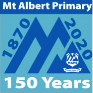 Mt Albert primary School 15th logo