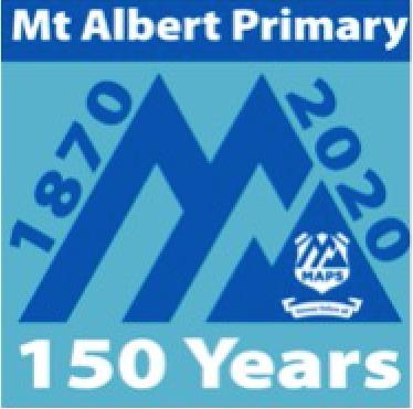 Mt Albert primary School 15th logo